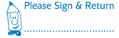 35154 - Please Sign & Return Teacher Stamp